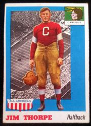 1955 Topps All American #37 Jim Thorpe (HOF)