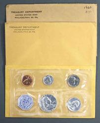 1960 1962 and 1963 US Silver Proof Sets