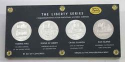 4 Choice BU Liberty Series So Called Dollars 1965