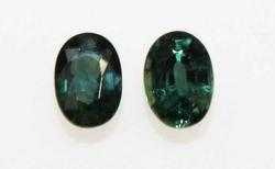 Natural Green Sapphire Pair - 2.08 cts. 03