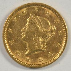 Very lovely 1851 US Type One $1 Gold Piece