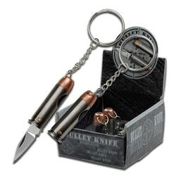 Mini Bullet Keychain Folding Knife Everyday Carry Tote