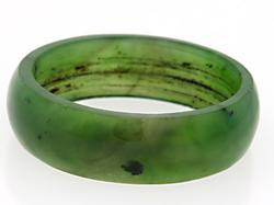 Jade band ring