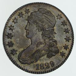 1829 Capped Bust Half Dollar - Near Uncirculated