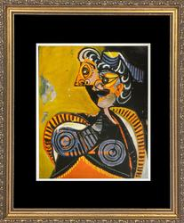 'Portrait of Marie Therese' Picasso Circa 1961