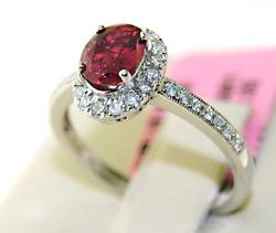 GIA CERTIFIED 18kt Gold, Ruby, & Diamond Ring