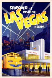 Vivid Vintage Poster - Las Vegas