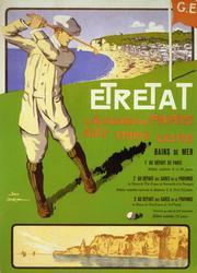 Gorgeous Vintage Poster - Etretat