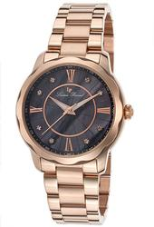 Ladies Lucien Piccard Rose Gold Tone, MOP Dial