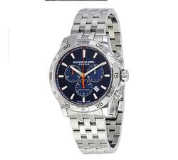 New in Box Raymond Weil Blue Dial Diver, Swiss