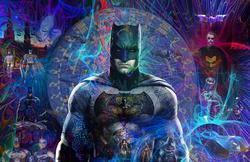Amazing Original Mix Media on Canvas by A. Quintero