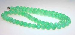 Stunning Natural Jadeite 21.75-inch Necklace