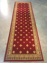 8' Long Modern Pin Dot  Design Runner