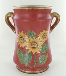 CERAMIC DECORATED VASE