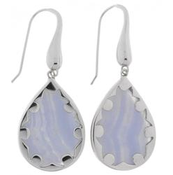 Amazing Silver Earring with Agate