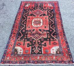 Very Rare Armenian Weave Mid-20th C. Authentic Handmade Vintage Lankoran