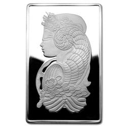 PAMP Suisse Silver Bar 5 oz - Fortuna Design