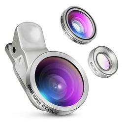 3 in 1 Clip On Camera Fish Eye Lens