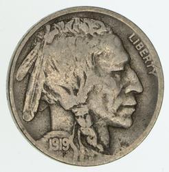 1919-D Buffalo Indian Nickel - Circulated