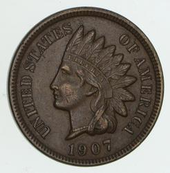 1907 Indian Head Cent - Circulated