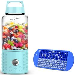 Portable Baby Blender for Shakes/Smoothies w/ Ice Tray