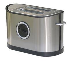 Sunpentown 2-Slot Stainless Steel Toaster