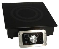 Built-In Commercial Range Induction Cooktop W Temperatue Display