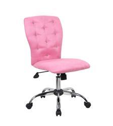 Boss Office Furniture Tiffany Microfiber Chair-Pink