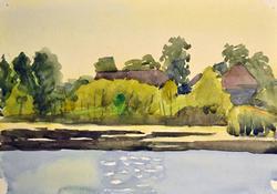 KORNEEV L. YAKOVLEVICH ORIGINAL WATERCOLOR