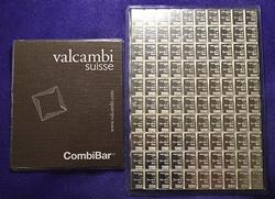 100G VALCAMBI SILVER Break Apart BAR