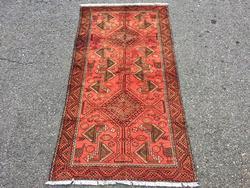 Lovely Unique Mid-20th C. Authentic Handmade Vintage Persian Qazi-Dokhtari
