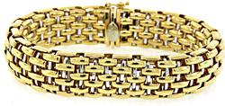 Fope Italian 18KT White & Yellow Gold Bracelet