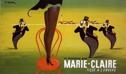 Pierre Fix-Masseau - Marie Claire on Canvas