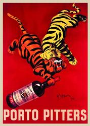 Magnificent Vintage Poster - Porto Piters