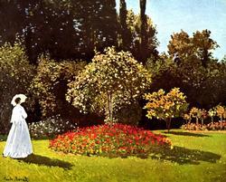 Monet - Woman in the Garden