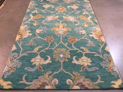 Contemporary Design Hand Made , Wool Area Rug 5x8