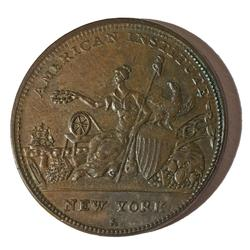 1836 HTT NY R &W Robinson Buttons Chocolate Brown Unc
