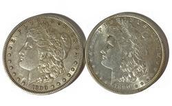 1890 P and S  Morgan Dollars