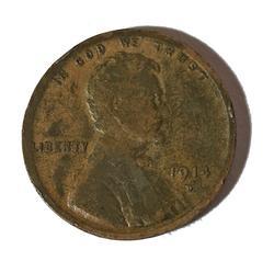 Sharp Key 1914 D Lincoln Cent