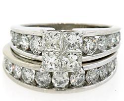 4.0 CTW Diamond Bridal Set