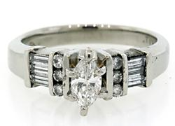 Tailored Look Diamond Ring