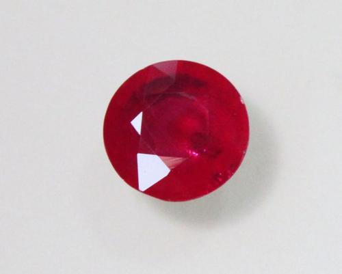 Natural Deep Red Ruby - 0.88 ct.