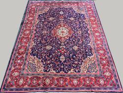 Inspiring Authentic Handmade Vintage Royal Persian Rug