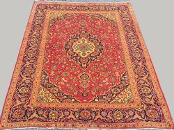 Simply Lovely Mid-20th C.Fine Authentic Handmade Vintage Persian Bidgol Rug