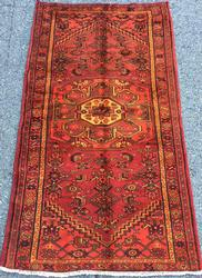Lovely 1950s Authentic Handmade Vintage Persian Gorg-Heydar