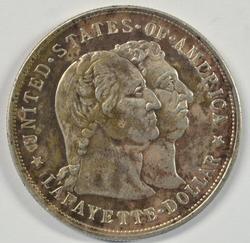 Very Scarce 1900 Lafayette Commemorative Half Dollar