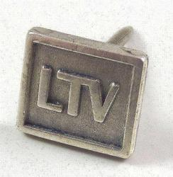 Sterling Silver Vintage CTO Square Pin