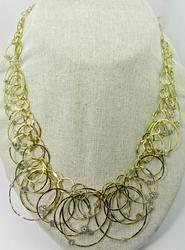 Designer Scintelle Style Diamond Accented Necklace
