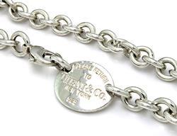 Tiffany & Co Return to Tiffany Tag Necklace