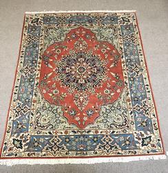 Absolutely Captivating Handmade Vibrant Persian Yazd